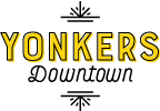 Yonkers Downtown Sticky Logo