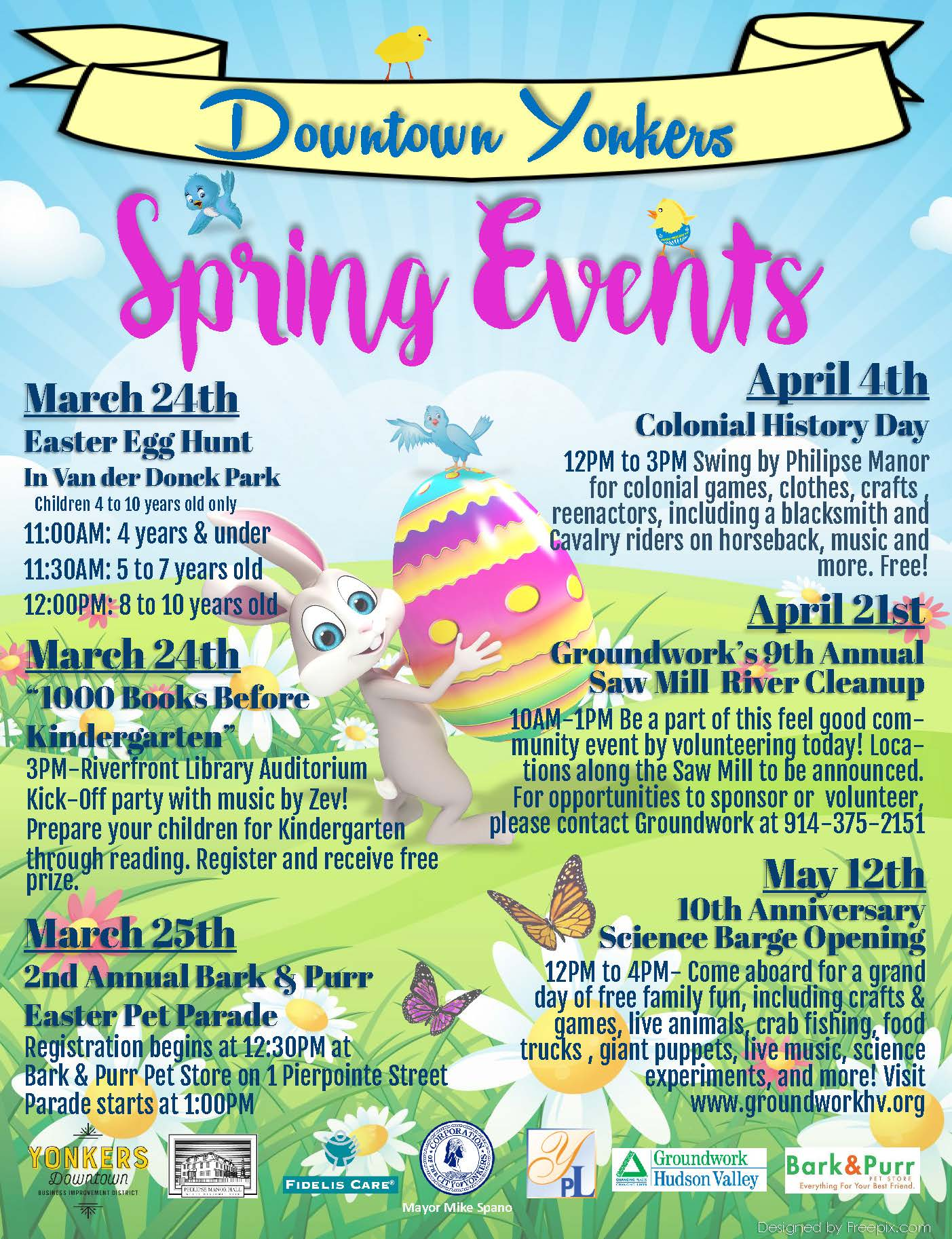 Spring Events in the Downtown!