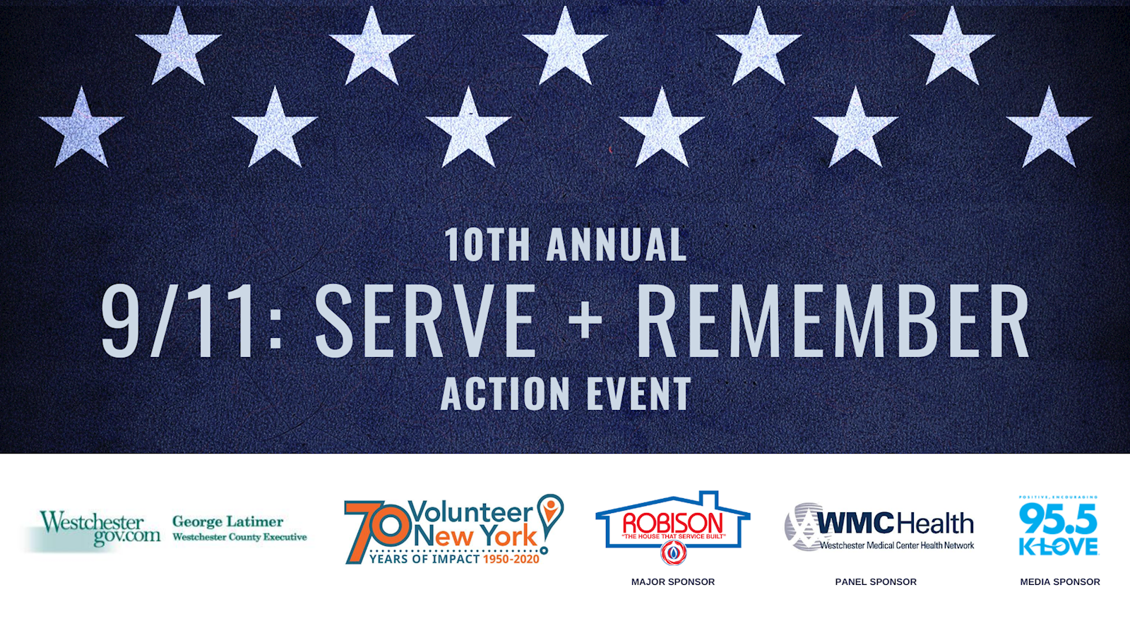 Registration for 9/11: Serve + Remember now open. Everyone can serve!